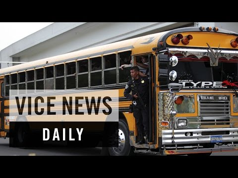 VICE News Daily: Gangs Threaten Bus Drivers in El Salvador