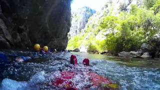 Discover Dalmatia 2015 - Canyoning