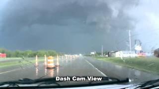 Severe Thunderstorm With Hail In Michigan May 3, 2012 (Part 1)