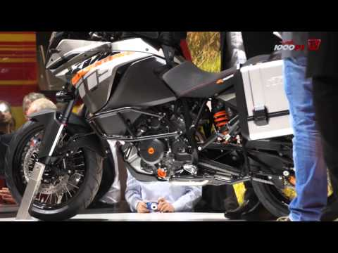 KTM 1190 2013 Adventure- KTM Präsentation Intermot 2012