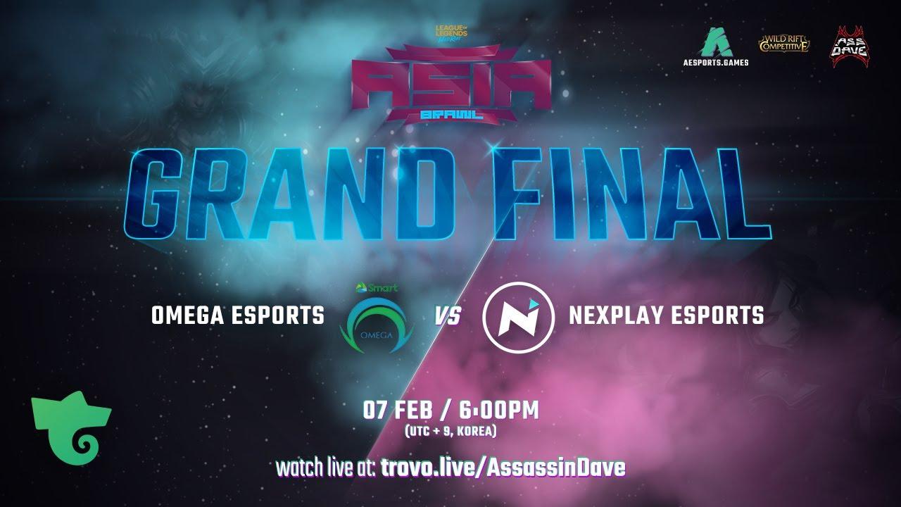 Nexplay Esports vs Omega Esports G2 | Wild Rift Asia Brawl Grand Final