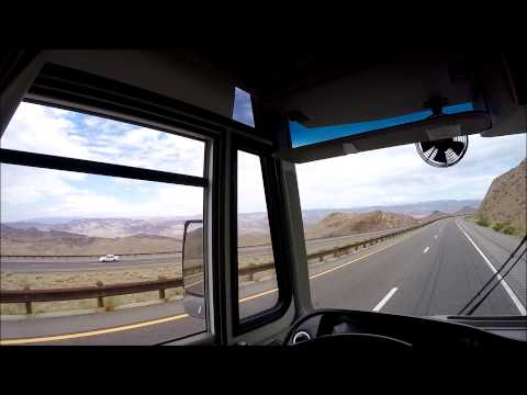 Traveling in our RV in Arizona