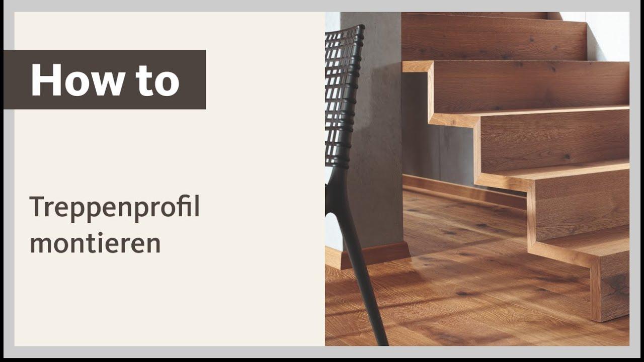 Anleitung: HARO Euro-Step Treppenprofil Typ 320 selbst montieren