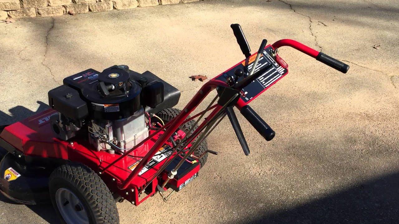 Troy Bilt Wide Cut Mower 33 Combination Deck