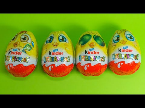 Kinder SURPRISE 2019 Special NEW TOYS Unboxing