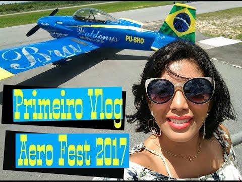 Primeiro Vlog: Aero Fest