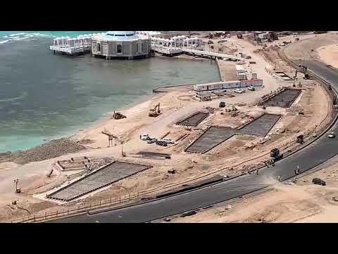 Saudi Arabian Formula 1 Grand Prix Track Build Progress