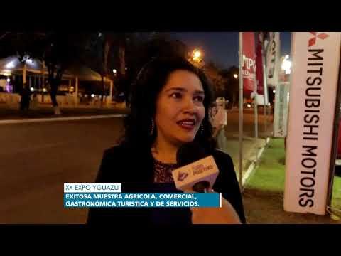 NOTA SOFIA MONTIEL DE AFARA   EXPO YGUAZU 2017