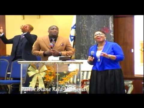 "Pastor Diane Williams Ministering ""Your Rotation Will Determine You Destination; 180°"" -FIADMNY"