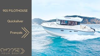 Quicksilver Captur 905 Pilothouse : Guided Tour Video / Visite guidée