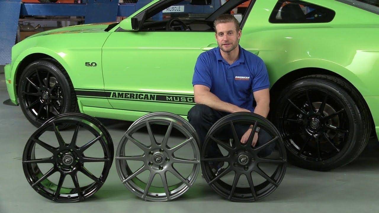 Mustang Forgestar Cf10 Monoblock Wheels Matte Black