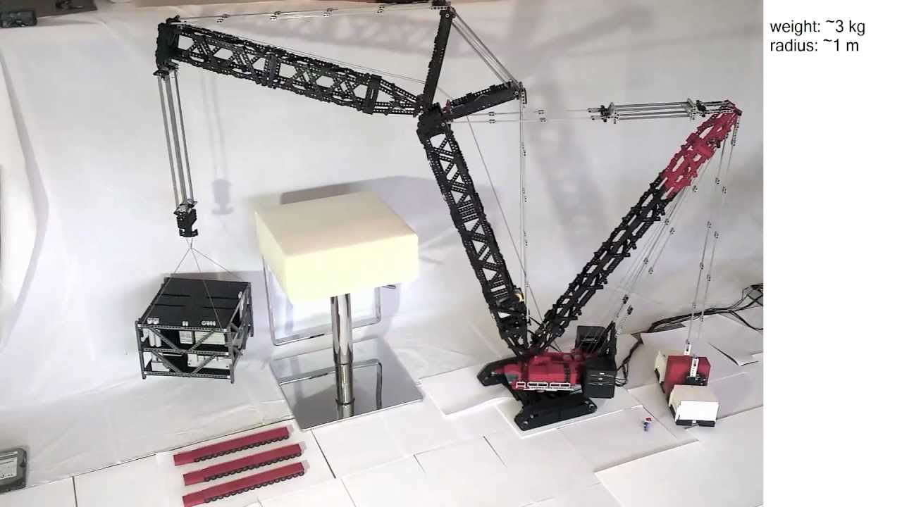 lego technic crawler crane youtube. Black Bedroom Furniture Sets. Home Design Ideas
