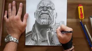 THANOS Speed Drawing [Avengers Infinity War]