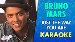 Bruno Mars - Just The Way You Are (Karaoke)   CantoYo