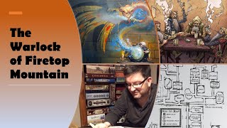 The Warlock of Firetop Mountain - Fighting Fantasy gamebook