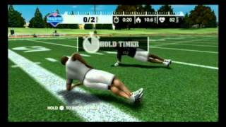 NFL Workout on the Wii
