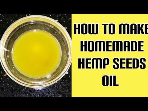 Homemade Hemp Seeds Oil   Benefits of hemp seeds oil