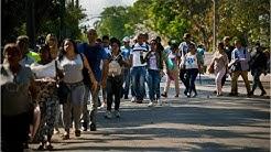 Cada da llegan ms cubanos que intentan ingresar a Estados Unidos va Mxico