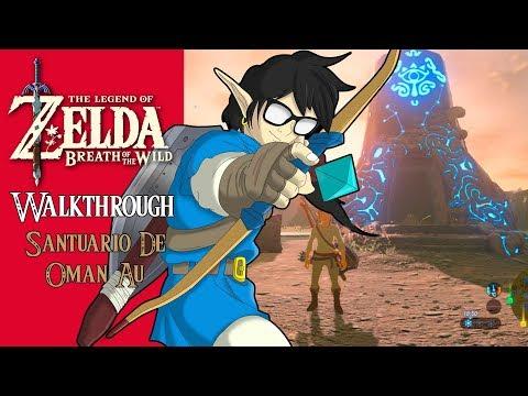 "The Legend of Zelda: Breath of the Wild   Walkthrough Episodio #1   ""Santuario de Oman Au"""
