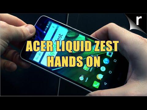 Acer Liquid Zest hands-on review | MWC 2016