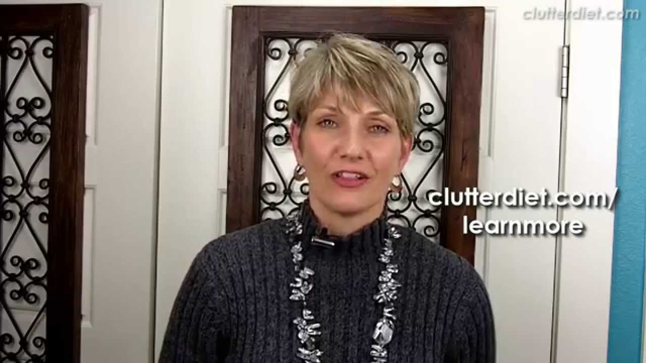 What To Do With Sliding Closet Doors Clutter Video Tip Youtube