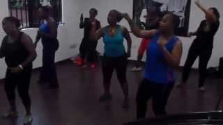 Fuzion Fitness: Dare & Daniel doing Omawunmi