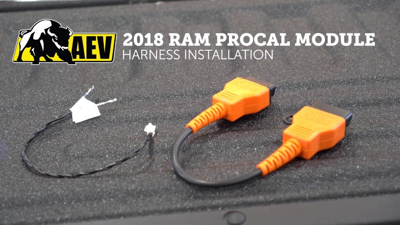 2018 Ram AEV ProCal Install