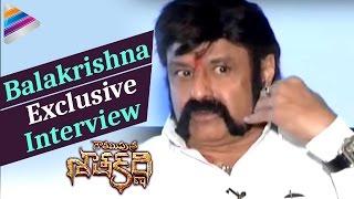 Repeat youtube video Balakrishna Opens Up about his Involvement in Gautamiputra Satakarni | Krish | Telugu Filmnagar