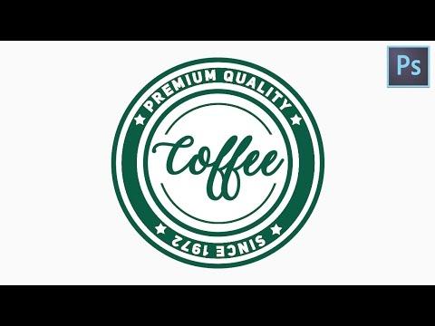How to create a Circular Logo | Photoshop tutorial Logo Design| Text on circular path