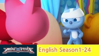 [English ver.dub ]MINIFORCE Season1 Ep24: Black Miniforce 2