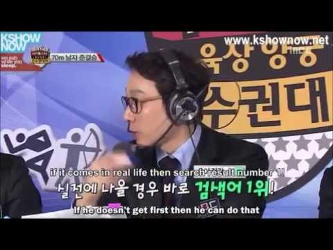 Idol Star Olympics 2013 [Eng sub] part 2/3