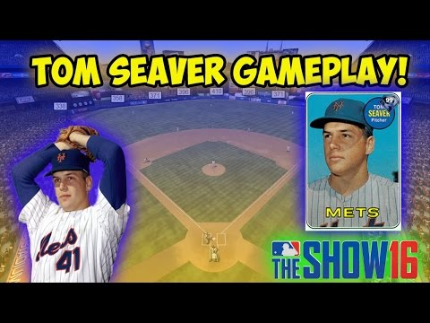 MLB The Show 16 Diamond Dynasty Gameplay - Tom Seaver