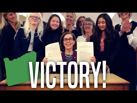 Oregon Governor Kate Brown Signs Bill that Protects Net Neutrality