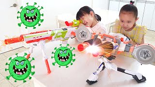 Fantastic Family's Story about viruses | Kids Stay at Home | Nastya,Diana,Vlad,Ryan,Shfa