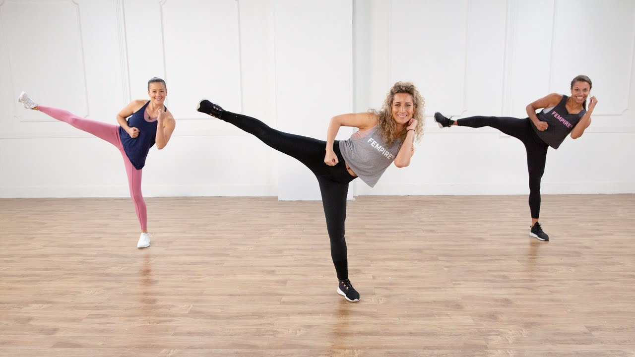 30-Minute No-Equipment Cardio Kickboxing Workout