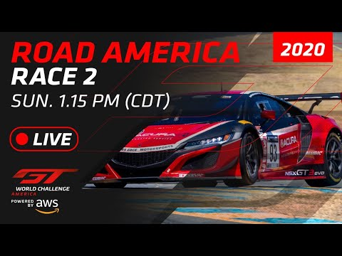 RACE 2 - ROAD AMERICA - GT WORLD CHALLENGE AMERICA 2020