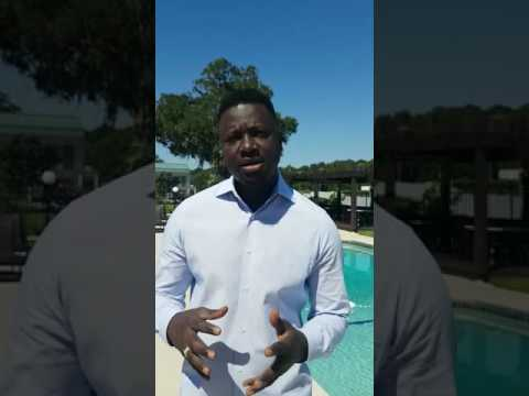 An AfricaCom shout-out by Akon Lighting Africa's Thione Niang