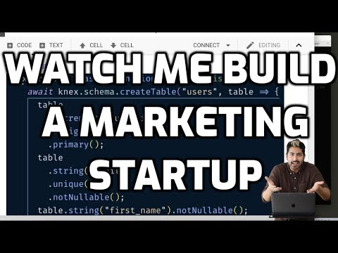 Watch Me Build a Marketing Startup thumbnail