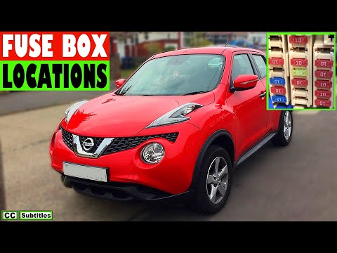 Nissan Juke Fuse Box Location and How to check fuses on ... on