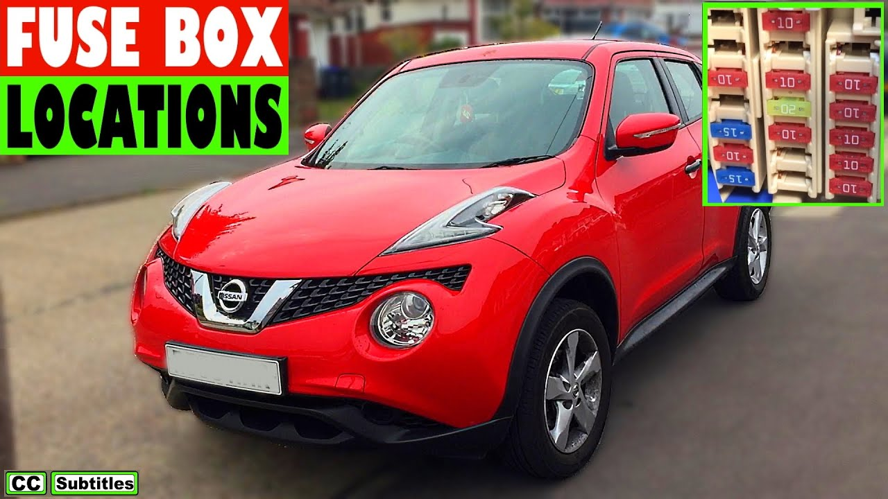 nissan juke fuse box location and how to check fuses on nissan juke rh youtube com nissan juke fuse box layout 2015 nissan juke fuse box diagram