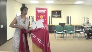 SAHRC Deputy Chairperson Pregs Govender