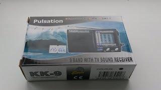 Обзор FM/AM/SW Радиоприёмника Pulsation KK-9