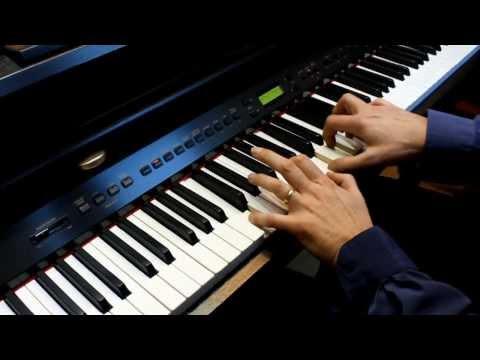 Leonhard Cohen - Shrek - Hallelujah - Piano Solo - Instrumental - HD