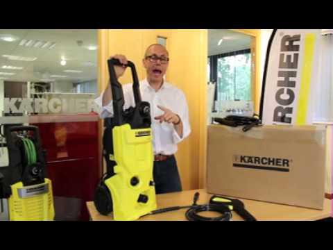 Видео обзор: Мойка высокого давления Kärcher К 3