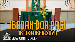 Hati-Nya Untukku dan Untukmu - Ibadah Doa Pagi, 16 Oktober 2020