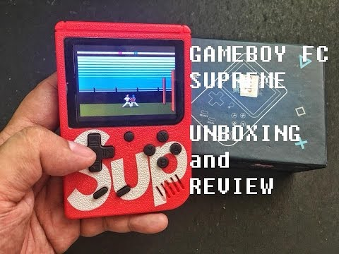 Play Retro Games With Gameboy FC Supreme
