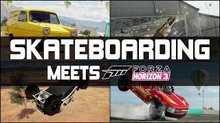 Forza Horizon 3 - SKATEBOARDING MEETS FORZA HORIZON - If Tony Hawk Played Forza!!