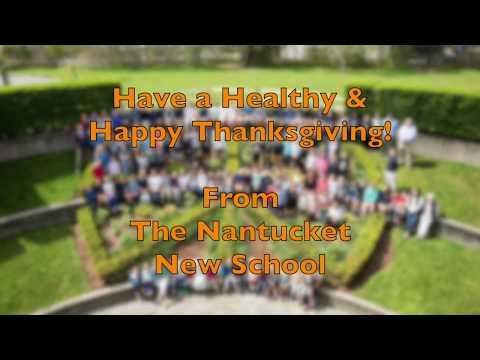 Nantucket New School ~ Happy Thanksgiving