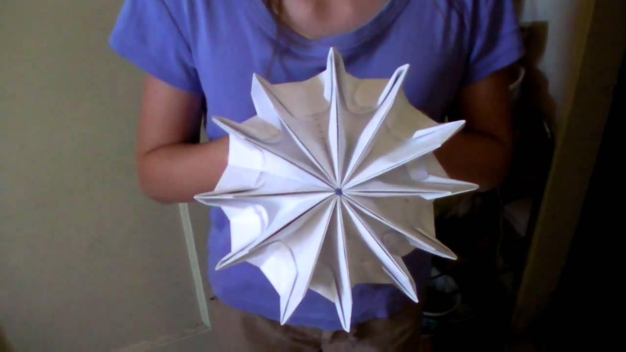 youtube how to make origami fireworks