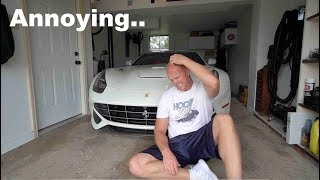 They said this would happen if I did this to my Ferrari.. And it did.. TWICE.. In ONE day..